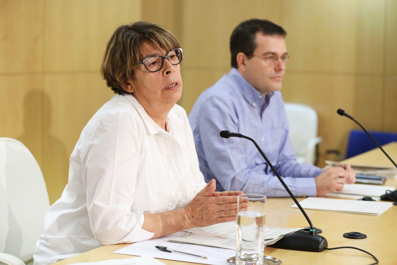 Imagen de la rueda de prensa (Foto: Madrid.es)