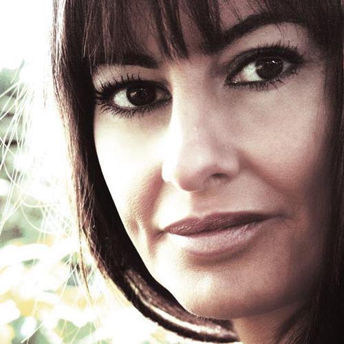 La cantante Marián Valderrama, en Vallecas