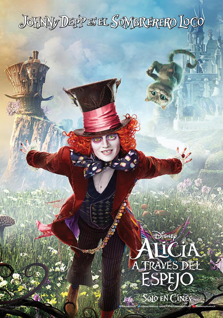 Cartel de 'Alicia a través del espejo'