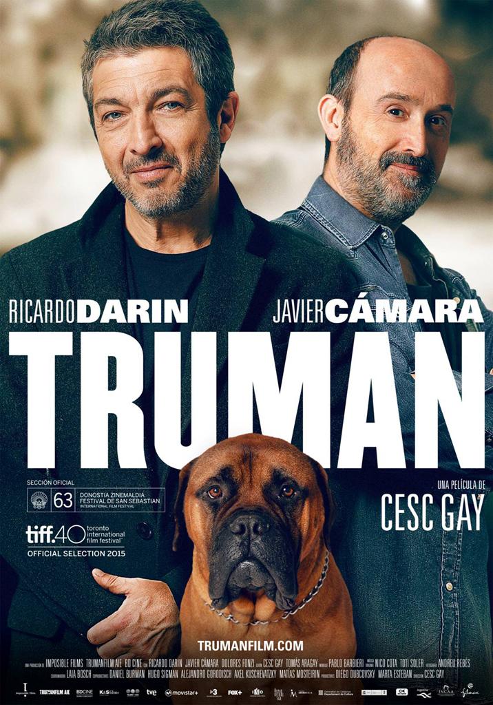 Cartel de 'Truman' de Cesc Gay