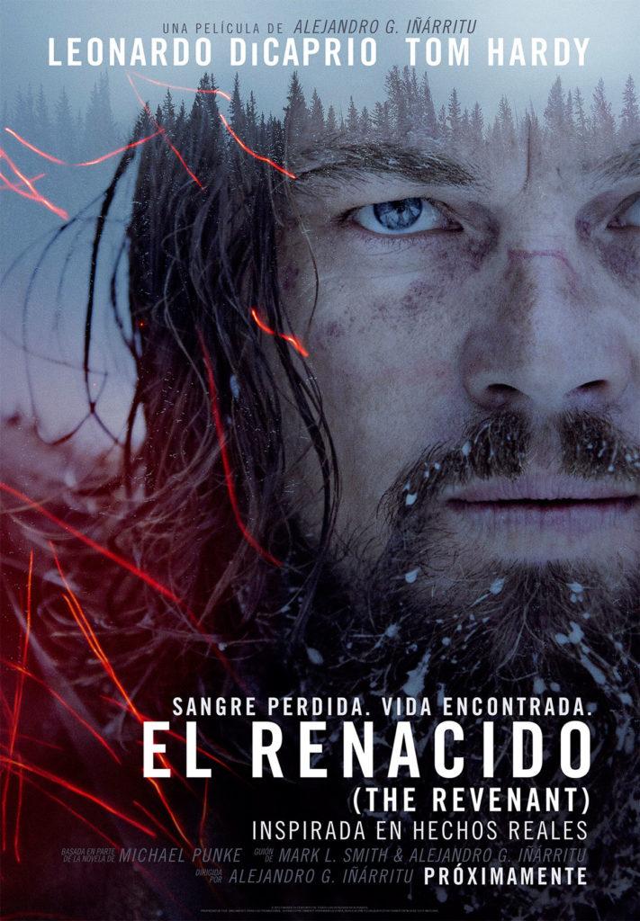 Cartel español de 'El renacido'
