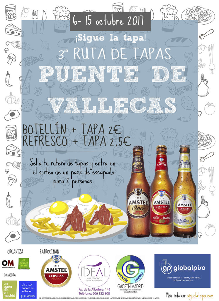 Cartel de '¡Sigue la tapa!'