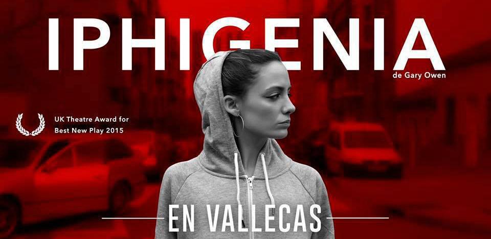 Cartel de 'Iphigenia en Vallecas'