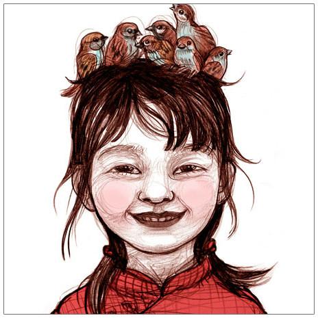 Cartel de 'La nena dels pardals'