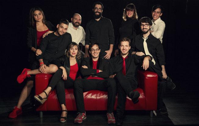 Los integrantes de La Manada Teatro (Foto: La Manada Teatro)