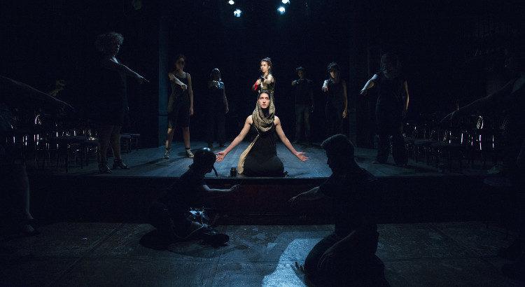 Una imagen de la obra 'Cruzadas' (Foto: La Manada Teatro)