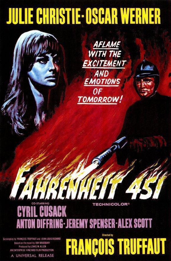Cartel de 'Fahrenheit 451'