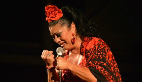 La cantante Maria Gracia