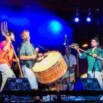 Actuación de Coetus en Vallecas (Foto: Enrique Escorza)