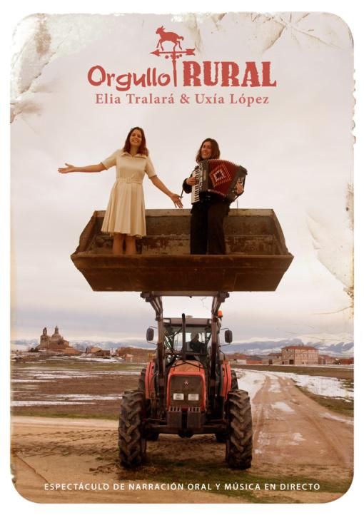 Cartel del espectáculo 'Orgullo rural'