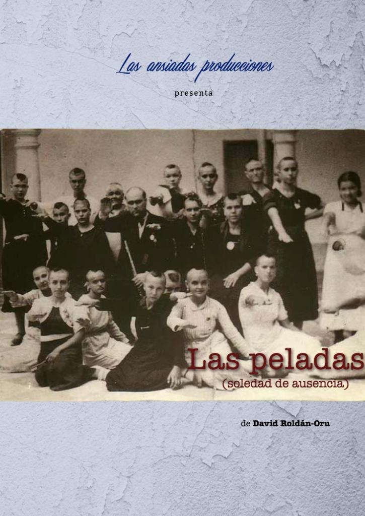 Cartel de 'Las peladas' de David Roldán-Oru