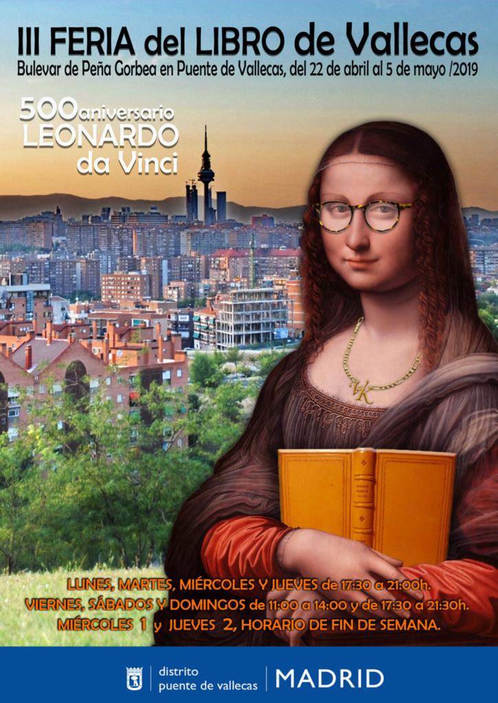 III Feria del Libro de Vallecas, dedicada a Leonardo da Vinci