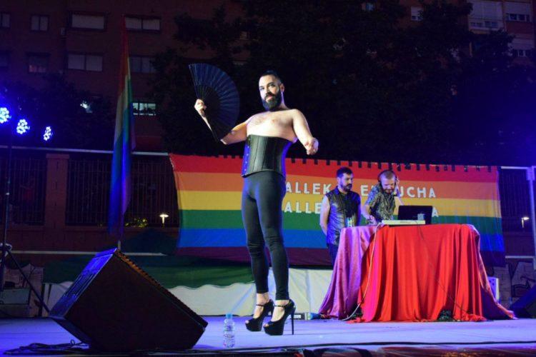 Una de las actuaciones del Festival LGTBIQ+ 7 Tetas (Foto: FB Orgullo Vallekano)