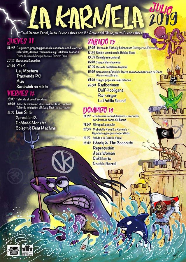 Programa de las Fiestas de la Karmela