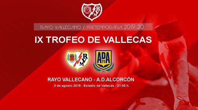 Rayo - Alcorcón en el Trofeo de Vallecas