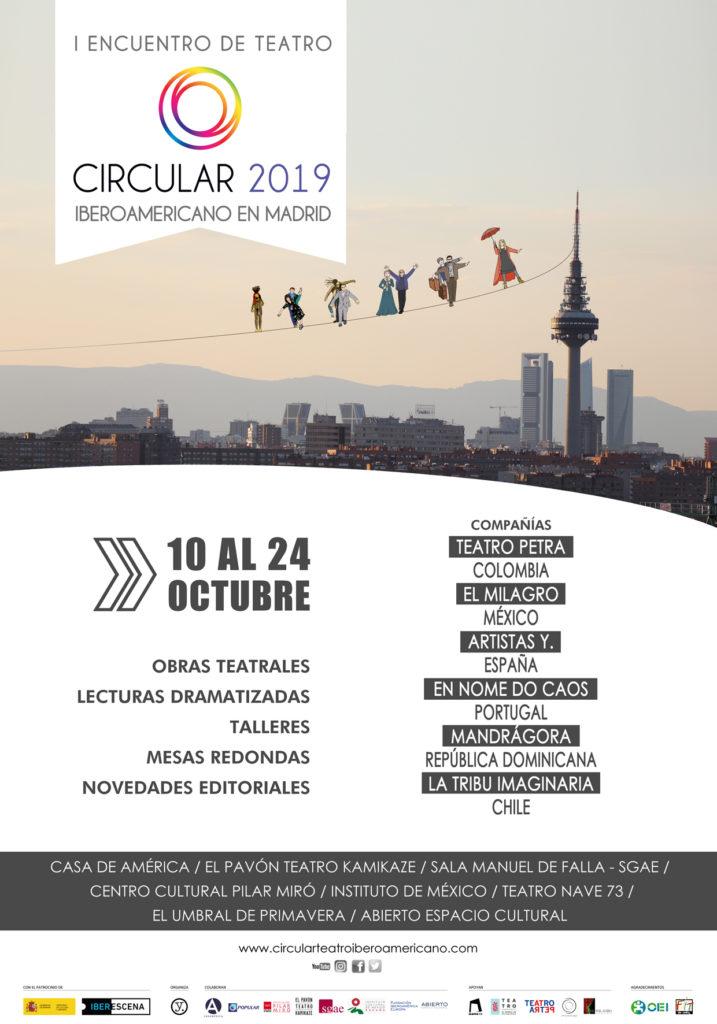 CIRCULAR, I encuentro de teatro iberoamericano en Madrid