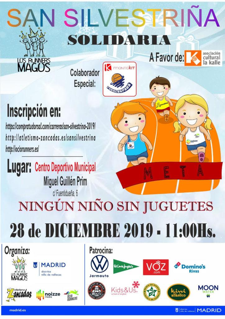 Cartel de la San Silvestriña 2019