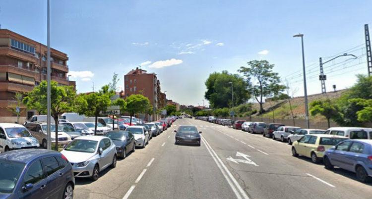 Calle Convenio (Foto: Gacetín Madrid)