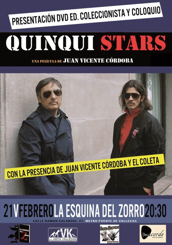 Presentación de 'Quinqui Stars'