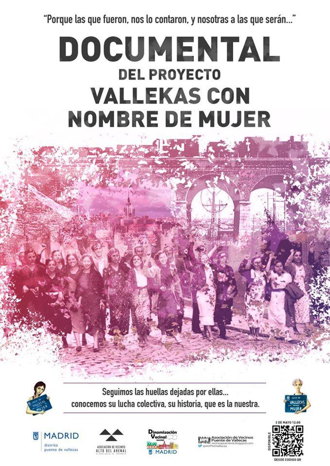 Estreno del documental 'Vallekas con nombre de mujer'