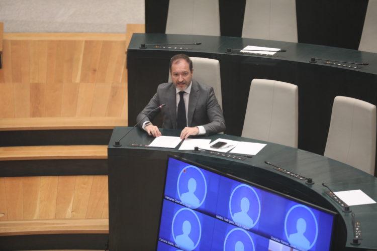 Manuel Fuentes en la  Comisión de Desarrollo Urbano y de Obras y Equipamientos (Foto: Madrid.es)
