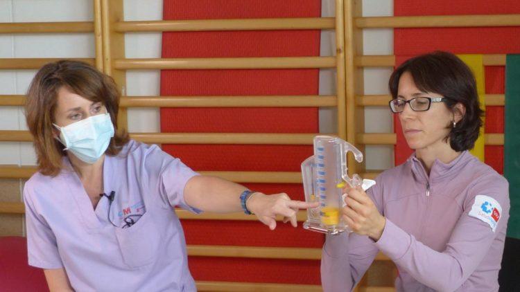 Las fisioterapeutas Concepción Pastor Ortiz y Begoña Martín Martínez